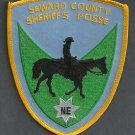 Seawrd County Sheriff Nebraska Mounted Posse Police Patch