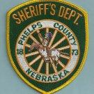 Phelps County Sheriff Nebraska Police Patch