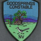 Goodsprings Constable Nevada Police Patch