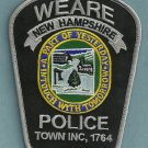 Weare New Hampshire Police Patch