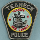 Teaneck New Jersey Police Patch Windmill
