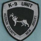 Hudson County New Jersey Police K-9 Unit Patch