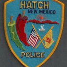 Hatch New Mexico Police Patch Chili Capital