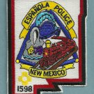 Espanola New Mexico Police Patch