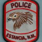 Estancia New Mexico Police Patch
