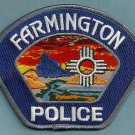 Farmington New Mexico Police Patch