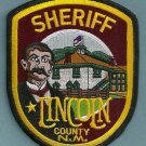 Lincoln County Sheriff New Mexico Police Patch