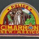 Cimarron New Mexico Police Patch