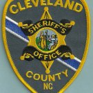 Cleveland County Sheriff North Carolina Police Patch