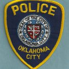Oklahoma City Oklahoma Police Patch