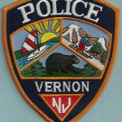 Vernon New Jersey Police Patch