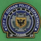 Gotham City Police Patch Batman