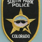South Park Colorado Police Patch