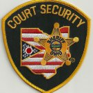 Ohio State Sheriff Court Security Police Patch