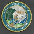 Myrtle Creek Oregon Police Patch