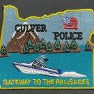 Culver Oregon Police Patch