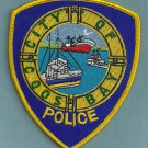 Coos Bay Oregon Police Patch