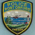 Port Orford Oregon Police Patch Lighthouse