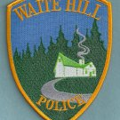Waite Hill Ohio Police Patch