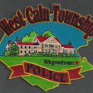 West Caln Township Pennsylvania Police Patch