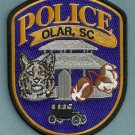 Olar South Carolina Police Patch