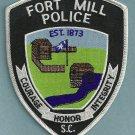 Fort Mill South Carolina Police Patch