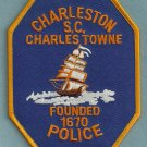 Charleston South Carolina Police Patch