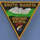 South Dakota Highway Patrol Police Patch Mount Rushmore