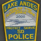 Lake Andes South Dakota Police Patch