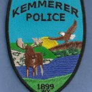 Kemmerer Wyoming Police Patch