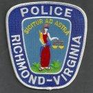 Richmond Virginia Police Patch Capital City