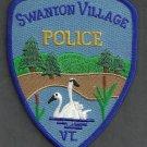 Swanton Vermont Police Patch