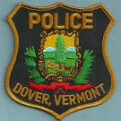Dover Vermont Police Patch