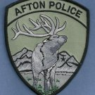 Afton Wyoming Police Patch