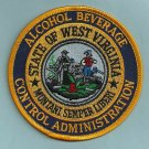 West Virginia Alcoholic Beverage Control Police Patch