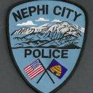 Nephi Utah Police Patch