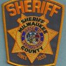 Milwaukee County Sheriff Wisconsin Police Patch