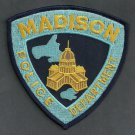 Madison Wisconsin Police Patch State Capital