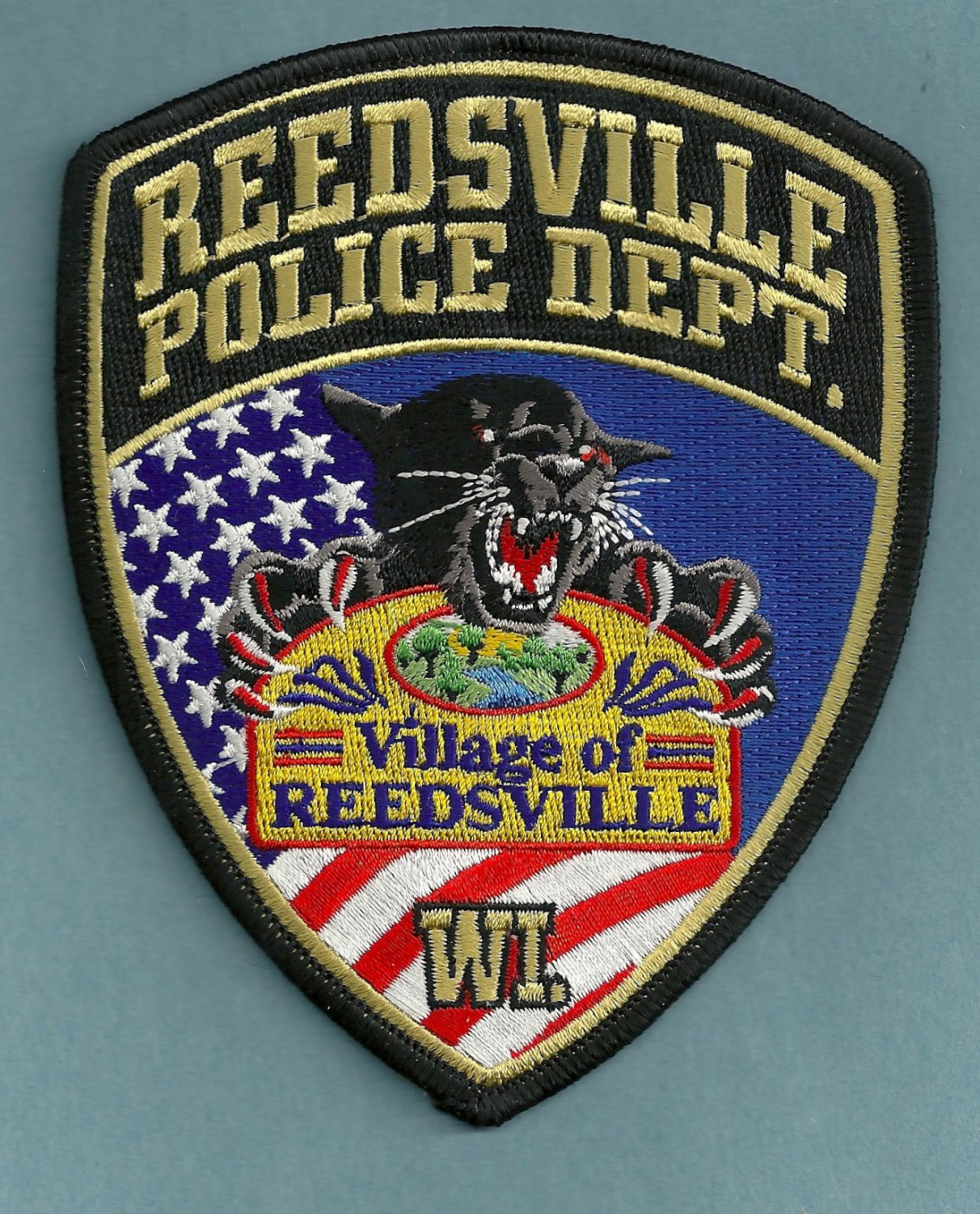 Reedsville Wisconsin Police Patch