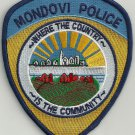 Mondovi Wisconsin Police Patch