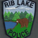 Rib Lake Wisconsin Police Patch