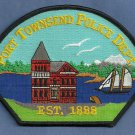 Port Townsend Washington Police Patch