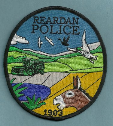 Reardan Washington Police Patch