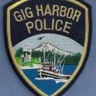 Gig Harbor Washington Police Patch