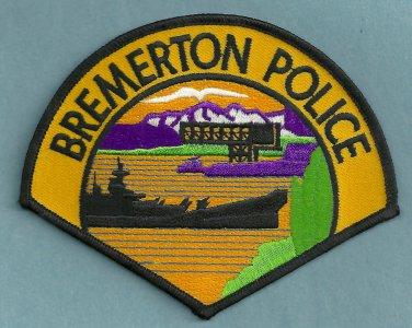 Bremerton Washington Police Patch