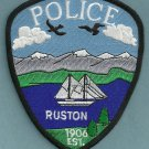 Ruston Washington Police Patch