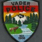 Vader Washington Police Patch