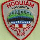 Hoquiam Washington Police Patch