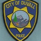 Duvall Washington Police Patch