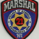 Village of Kendall Wisconsin Police Patch